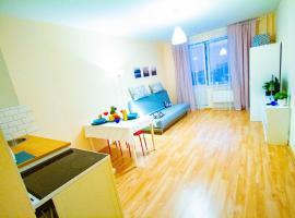Уютная квартира-студия, 32 м², 15/18 эт., apartment in Mytishchi