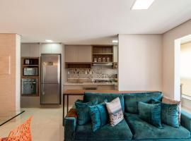 #LUX1908# Apto de 2Qtos LUXUOSO no Lux Home Design, budget hotel in Goiânia