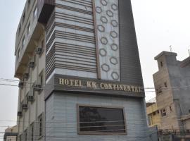 hotel k k continental, отель в Амритсаре