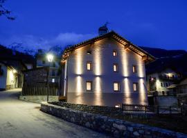 Maison Bertin, hotel Etroublesben