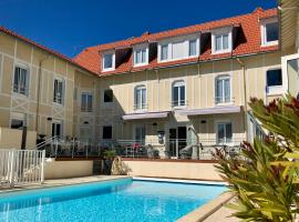 Logis Hôtels - Hôtel d'Orbigny, hôtel à Châtelaillon-Plage près de: Parc des expositions de La Rochelle