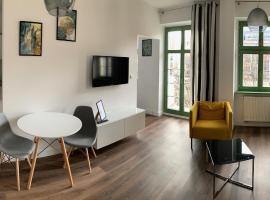 GREENY, apartment in Wrocław