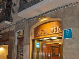 Hostal Paris, hotel a Barcellona