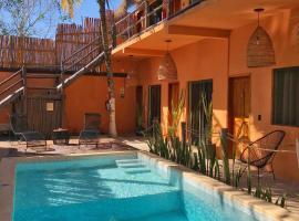 Hotel Sur Bacalar, hotel en Bacalar