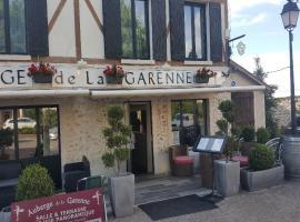 Auberge de la garenne, hotel near Domaine du Tremblay Golf Course, Saint-Rémy-l'Honoré