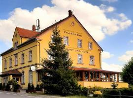 Restaurant & Hotel Zur Falkenhöhe, Hotel in der Nähe von: Jagdschloss Augustusburg, Falkenau