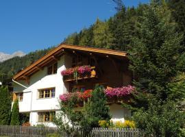 Haus Untergand, pet-friendly hotel in Sankt Anton am Arlberg