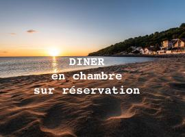Chambres d'hôtes à la Mer, beach hotel in Leucate