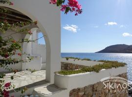 Seaside Traditional Cycladic House, ξενοδοχείο στη Σίκινο