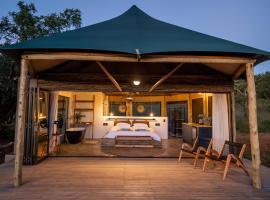 Sasi Bush Lodge Luxury All- Inclusive Tented Camp, luxury tent in Bergville