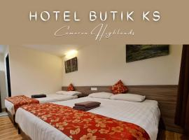 Hotel Butik KS,金馬崙高原的飯店