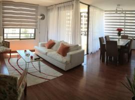 Acogedor departamento a pasos del paseo del mar, apartamento en Antofagasta