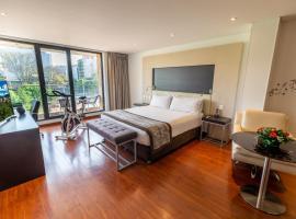 Hotel Jazz Apartments, hotel cerca de Parque de la 93, Bogotá