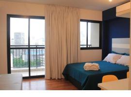 No coração de SP com internet, varanda e Smart TV, budget hotel in Sao Paulo