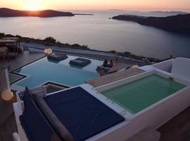 Santorini's Balcony Art Houses , ξενοδοχείο στο Ημεροβίγλι