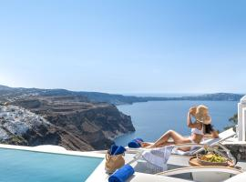 Mythical Blue Luxury Suites, hotel in Fira