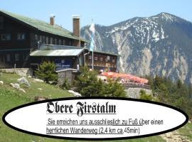 Berggasthof Obere Firstalm, hotel in Schliersee