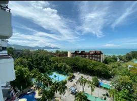 Pantai Seaview Resort Batu Ferringhi 2104, apartment in Batu Ferringhi