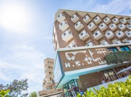 Hotel Savini, отель в городе Милано-Мариттима