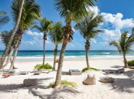 Cabanas Tulum- Beach Hotel & Spa, hotel in Tulum