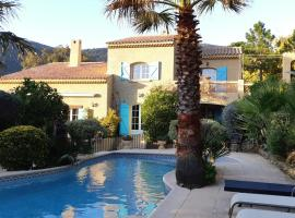 Rayol Villa Saphir, hotel in Rayol-Canadel-sur-Mer