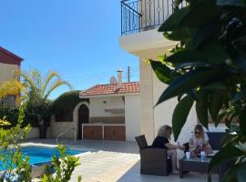 EPISKOPI VILLA, Luxury 4 Bedroom with Pool - Limassol, hotel in Limassol