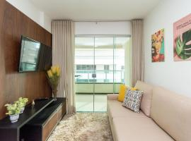 PP1206 Lindo apart de 2 quartos no Setor Bueno, budget hotel in Goiânia