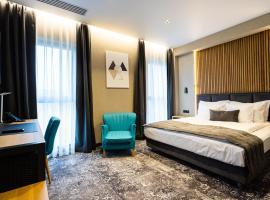 Hugo Hotel, hotel in Satu Mare