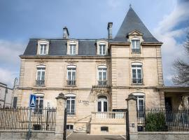 Le Manoir Hôtel, hôtel à La Rochelle près de: Parc des expositions de La Rochelle