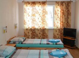 Viesnīca Haanja Guest Apartment with Sauna pilsētā Haanja, netālu no apskates objekta Lielais Munameģis