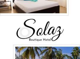 Solaz Boutique Hotel, отель в городе Лас-Терренас