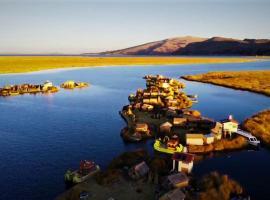 Ecoturismo, Los uros, hostel in Puno