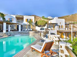 Anerousses Mykonian Traditional Houses, hotel near Armenistis Lighthouse, Houlakia