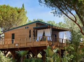 Camping maeva Respire Ecolodge L'Etoile d'Argens *****, Campingplatz in Fréjus