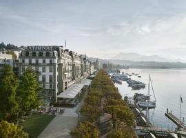 Grand Hotel National Luzern, hotel in Lucerne