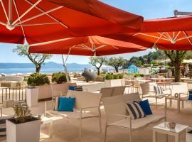 Hotel Mediteran, beach hotel in Mošćenička Draga