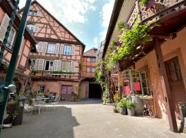 BED and BREAKFAST chez le VIGNERON en plein cœur de Colmar, B&B in Colmar