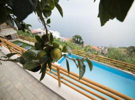 San Giacomo Relais, hotel near Path of the Gods, Furore