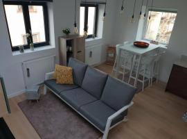 Uitzicht op het MAS, apartment in Antwerp
