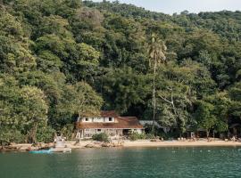 Bonito Paraiso Ilha Grande, guest house in Abraão