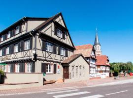 Aigle d'Or - Strasbourg Nord, hotel in Reichstett