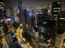 Vortex KLCC Suites by Homestay, hotel u Kuala Lumpuru