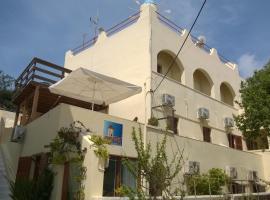 Anemomilos Villa, hotel en Firostefani