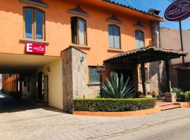 Casa Grande, hotel v mestu Zacatlán