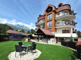 APLEND Villa Beatrice, apartmán v Tatranskej Lomnici