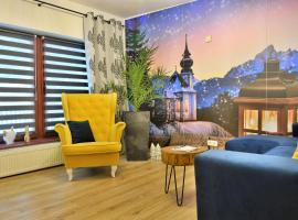 Apartament Czarna Willa, apartman Zakopanéban
