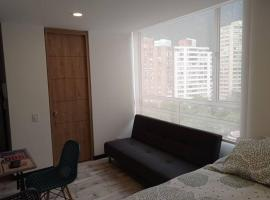 Apartaestudio Centro Bogotá - Vista a los Cerros, apartamento en Bogotá