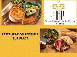 Grand Hotel De La Poste - Lyon Sud - Vienne, hotel in Vienne