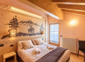 Zenith - Casa Azzurra-Mansarda, apartmán v Livignu