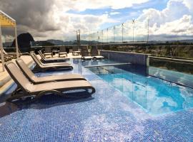 Hotel Santorini, apartment in Guatapé